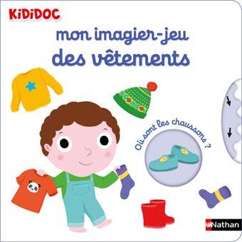 Kididoc Mon Imagier Jeu Des Vetements