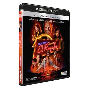 Sale temps à l'hôtel El Royale Blu-ray 4K Ultra HD