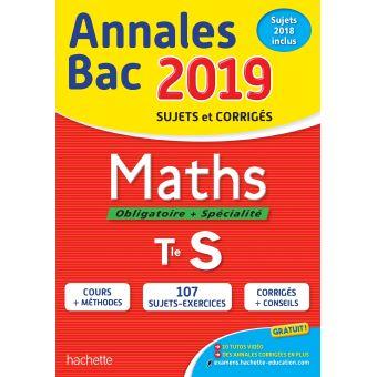 Annales Bac 2019 Maths Terminale S