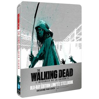 The Walking DeadThe Walking Dead Saison 3 Edition limitée Steelbook Blu-ray
