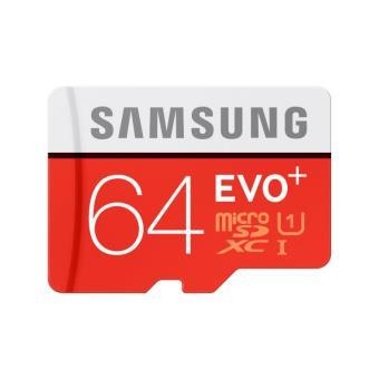 carte mémoire micro sd 64 go Carte Mémoire Samsung Micro SDXC Evo+ 64 Go Class 10 UHS avec