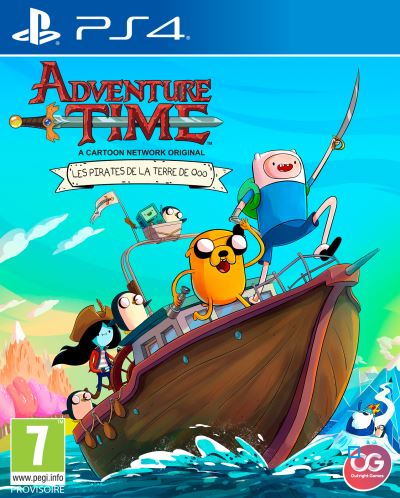 Adventure Time Les Pirates de la Terre de OOO PS4