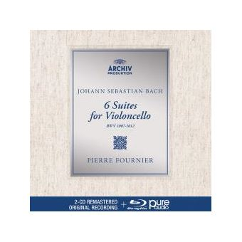 6 SUITES FOR VIOLONCELLO/2CD+BLU RAY AUDIO