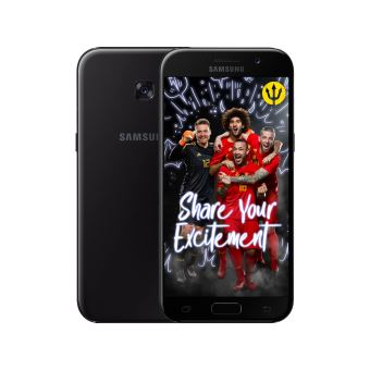 Samsung galaxy A5 BLACK + Red devils back cover
