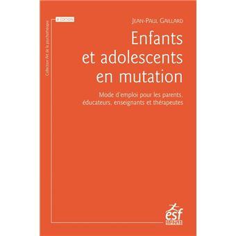 Enfants et adolescents en mutation