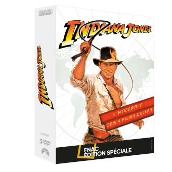 Indiana JonesCoffret Indiana Jones L'intégrale Edition Spéciale Fnac DVD