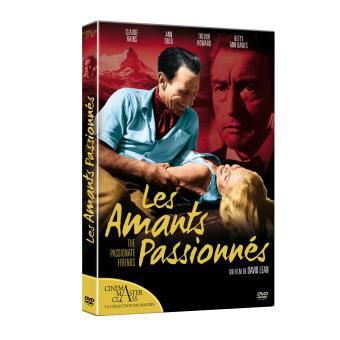 Les amants passionnés DVD