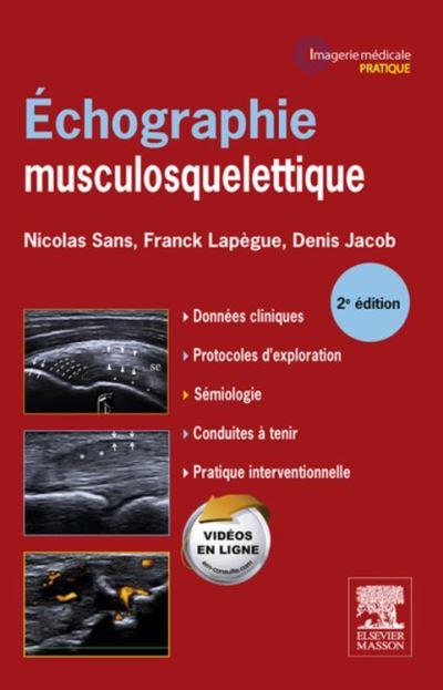 Echographie musculosquelettique - 9782294736322 - 54,99 €