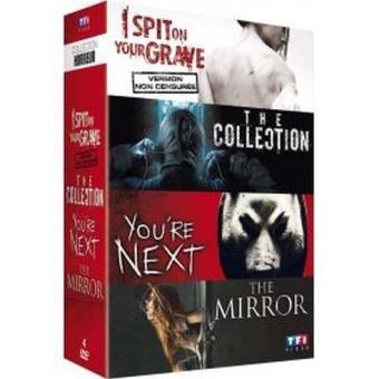 Coffret Horreur DVD