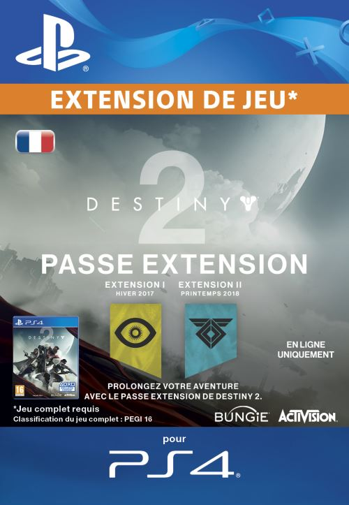 Destiny 2 Expansion Pass PS4 code de téléchargement