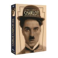 NAISSANCE DE CHARLOT-COFFRET-4 DVD-35 COURT METRAGES-VF