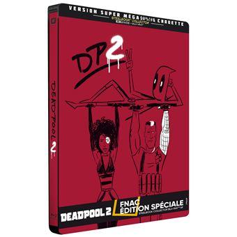DeadpoolDeadpool 2 Steelbook Edition Fnac Blu-ray 4K Ultra HD