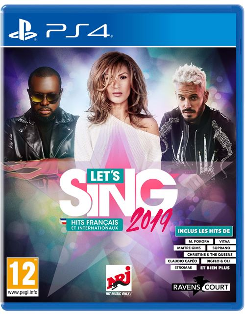 Let's Sing 2019 Hits français et internationaux PS4