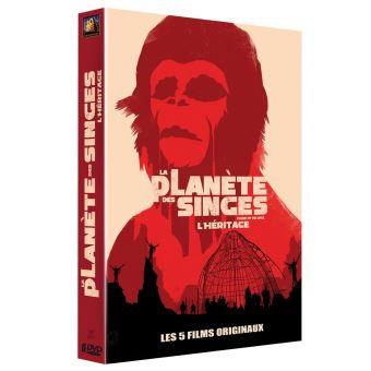 La planète des singesCoffret La Planète des singes L'héritage 5 films Version 2016 5 films DVD