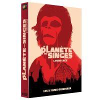 Coffret La Planète des singes L'héritage 5 films Version 2016 5 films DVD