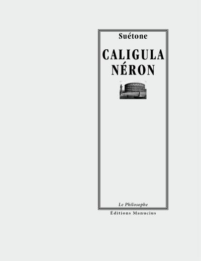 Caligula - neron - Manucius Eds