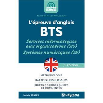 L'épreuve anglais BTS Services informatiques organisations systèmes numériques