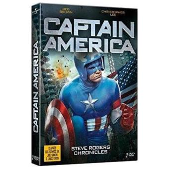 CAPTAIN AMERICA STEVE ROGERS CHRONICLE-FR-2 DVD
