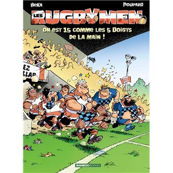 livre bd rugby