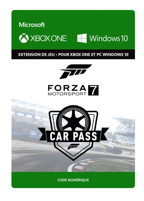 Forza Motorsport 7 : Car Pass  - Code de télechargement - Xbox One