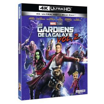Guardians of the galaxyLes Gardiens de la Galaxie Vol. 2 Blu-ray 4K