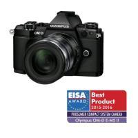 Hybride camera Olympus E-M5 Mark II body zwart + objectief ED 12-50 mm 1:3,5-6,3 EZ zwart