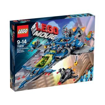 the lego movie 70816 le vaisseau spatial de benny lego achat prix fnac. Black Bedroom Furniture Sets. Home Design Ideas