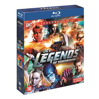 DC's Legends of TomorrowDC S LEGENDS OF TOMORROW S1-S2-BIL-BLURAY