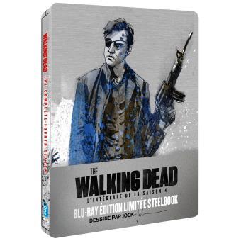 The Walking DeadThe Walking Dead Saison 4 Edition limitée Steelbook Blu-ray