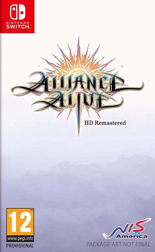 The Alliance Alive HD Remastered Awakening Edition Nintendo Switch
