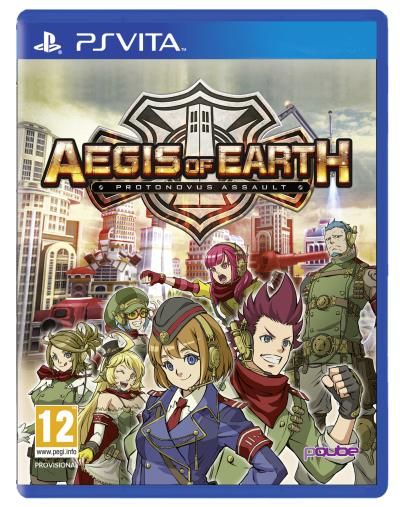 Aegis of Earth PS Vita
