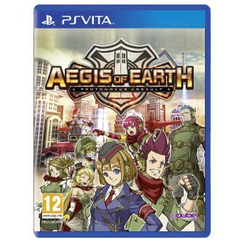 Aegis of Earth PS Vita