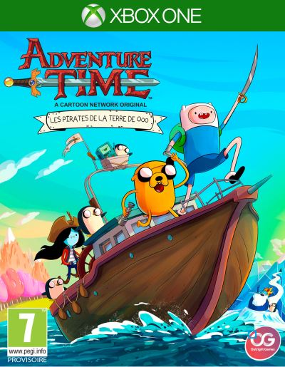 Adventure Time Les Pirates de la Terre de OOO Xbox One
