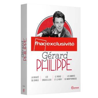 Coffret Gérard Philipe 2016 4 films Edition spéciale Fnac DVD