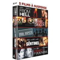 From Hell - L'année du dragon -Usual suspects - The sentinel - Crimes et pouvoir Coffret 5 DVD