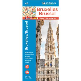 Plan Bruxelles Michelin