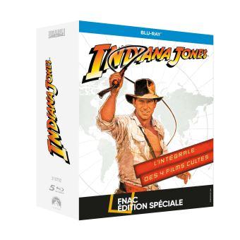 Indiana JonesCoffret Indiana Jones L'intégrale Edition Spéciale Fnac Blu-ray