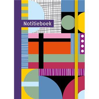 NOTITIEBOEK (GROOT) - MULTICOLOR