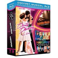 Dirty Dancing - Hairspray - Feel the Music - Coffret Blu-Ray