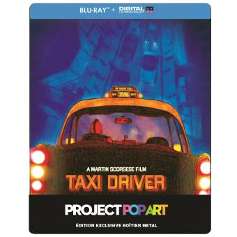 Taxi driver Steelbook Pop Art Blu Ray