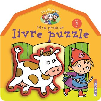 Jolie Ferme Mon Premier Livre Puzzle Des 1 An La
