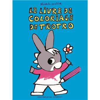 Lâne Trotro Les Coloriages De Trotro Bénédicte Guettier
