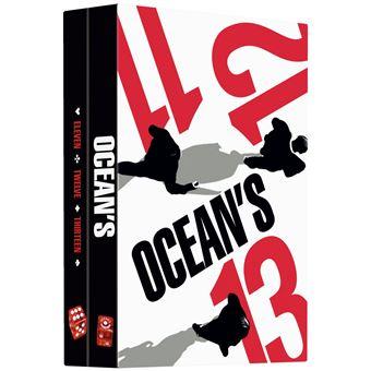 Ocean'SCoffret Ocean's 11 12 13 La Trilogie DVD