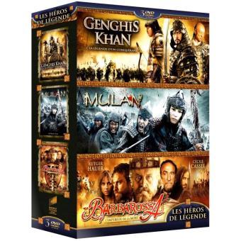 Coffret Héros de légende DVD