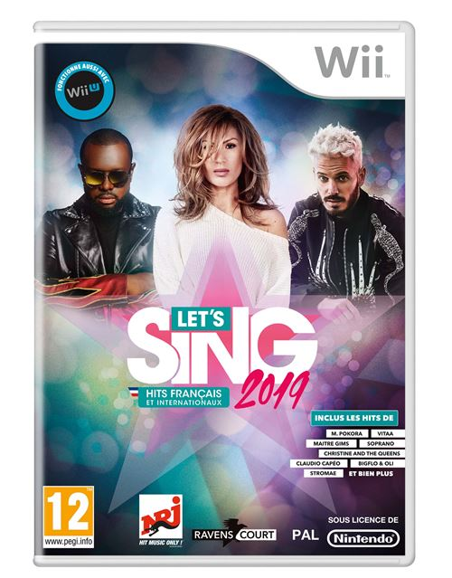 Let's Sing 2019 Hits français et internationaux Nintendo Wii