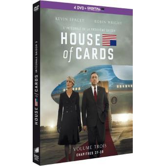 House of cardsHouse of Cards Coffret intégral de la Saison 3 DVD
