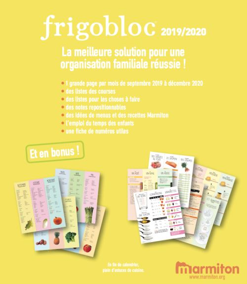 Temps Course Calendrier 2019.Frigobloc 2020 Mensuel Calendrier D Organisation Familiale Par Mois De Sept 2019 A Decembre 2020