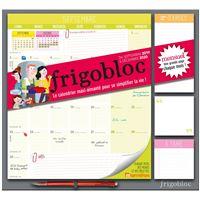 Frigobloc 2020 Mensuel - Calendrier d'organisation familiale par mois (de sept 2019 à décembre 2020)