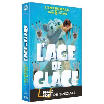L'âge de glaceCoffret L'Âge de glace 1à 5 Edition spéciale Fnac DVD