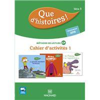2016 Pack Que d'histoires CP Série 3 Kit cahier 1 + Mémo des sons